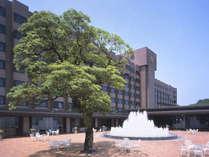 【城山観光ホテル】噴水広場