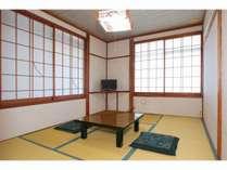 和室6畳(バス・トイレ無し)※写真は定員1~2名部屋一例