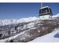 TSUGAIKE MOUNTAIN RESORT栂池高原スキー場ゴンドラ「イブ」