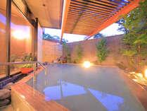 大浴場露天風呂/にごり湯源泉かけ流し硫黄泉