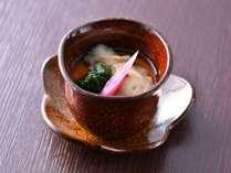 冬料理:【凌ぎ】牡蠣羽二重蒸し
