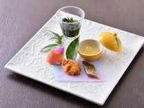 冬料理:【前菜】とんび唐揚げ 燻り鰊
