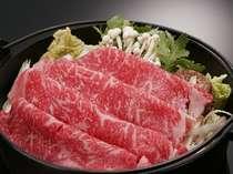 厳選福島牛のすき焼きは社長も一押しのメニュー