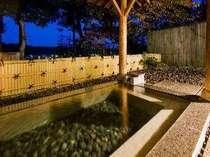 本館 露天風呂付き大浴場磐梯熱海温泉街を見下ろせる眺望露天風呂