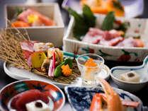 【四季折々の旬の素材を使った夕食】※画像はイメージ