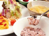 【GW専用1泊朝食付】のんびり到着OK☆1日の初めはシャキッと新鮮野菜で決まり!