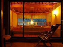 【月のあかり】和の建築美に感動するデザイナーズ貸切露天風呂(要予約)