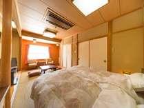 【和室】旧タイプ客室にツインベッドルームを完備
