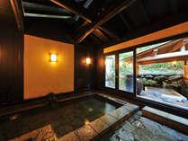 【温泉村】九条の湯(無料貸切風呂)これって本当に貸切!?とびっくりする温泉村一の広さ。