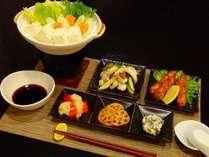 【雪の季節】湯どうふとおばんざい料理のプラン (1泊2食付)