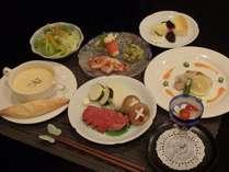 【平日限定】和洋折衷コース料理を楽しむプラン (1泊2食付)