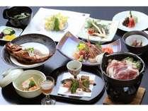 ■富士山■料理長おすすめ!贅沢旬会席を味わう<貸切風呂無料>