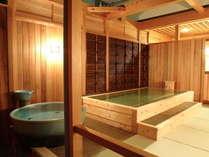 ナトリウム塩化物泉 天然温泉露天風呂  男性用・星空の湯