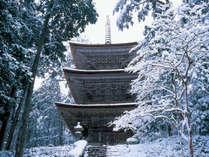 冬の明通寺