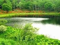 池めぐりハイキングツアーの出発点