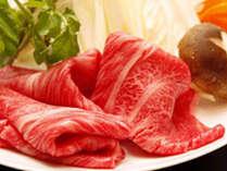 牛肉のしゃぶしゃぶ(料理一例)