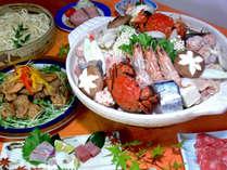 【冬季限定★山海鍋】フーフーしながら食べよ♪あったか山海鍋と温泉で冬の癒し旅