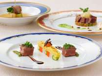 フランス料理「クラウン」での特別ディナーコース ※イメージ