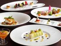 「北海道フェア2015」のフランス料理「クラウン」でのフルコース ※イメージ