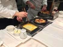 朝食ブッフェでは玉子料理の他、ワッフルやフレンチトースト、パンケーキも手作り。※イメージ