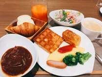 朝食盛り付け一例 ※イメージ