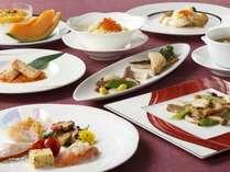 北海道食材を使用した9月~10月限定の北海道コース。2階中国料理「瑞麟(ずいりん)」※イメージ