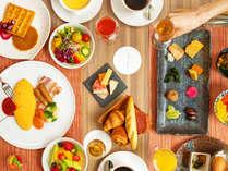 【朝食ブッフェ】和洋、しっかり、控えめ。どんな朝のスタイルにも寄り添う種類豊富なメニュー※イメージ