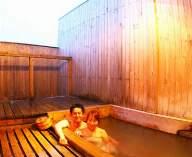 ひのきの露天風呂