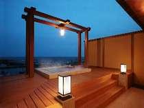 貸切露天風呂「青藍」御宿泊のお客様は40分間無料でお入りいただけます。