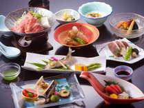 スタンダード会席★季節の旬な食材を使った約10品のオリジナル会席・料理イメージ