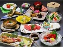 季節の会席料理(1)