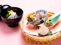 【お料理一例】2016年春のお料理。旬の海鮮を華やかに
