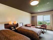【スタンダードツイン一例】26~29平米のゆったりとしたお部屋です。