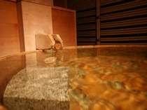 【露天風呂付客室】何度でも入りたくなる、柔らかな泉質です。