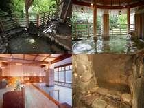 利根川のせせらぎと自然に恵まれた15湯で非日常空間を・・・そして心と身体に癒しを。。。