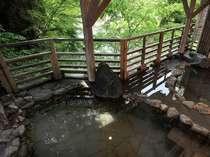 『牧水の湯』 露天風呂