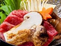秋の味覚の王様!『松茸懐石膳』松茸入り和牛すき焼きをはじめとした松茸3品♪
