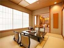 【和洋室】和室8畳+広縁+ベッド付