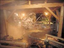 絶景の露雪見露天★しんしんと降り積もる雪とぽかぽか温泉でリフレッシュ!