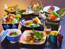 【上州牛会席;一例】季節ごとにメイン料理法が変わります。※写真はイメージです