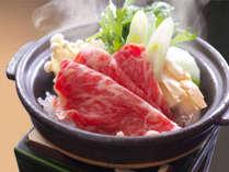 【上州牛すき焼き】オリジナルのタレとやわらか~い上州牛が口の中でとろけだす。