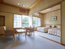 【準特別室バリアフリー客室】お部屋は全てフラット。当館に1室のみのお部屋です。