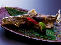 別注料理「岩魚の塩焼き」