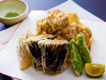 別注料理「季節の天ぷら」