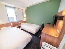 100cm幅シングルベッド2台★エコノミーツインルーム