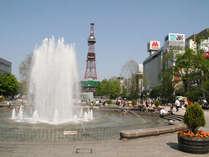 大通公園(春)