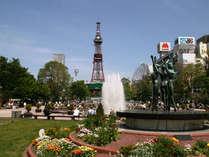大通公園(夏)