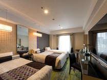 プレミアムトリプル[26平米]※3台目のベッドはスタッキングベッドになります。