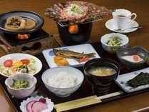 貸切風呂と郷土料理 【1泊朝食】