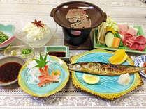 <夕食一例>田舎に帰ってきたような親しみある家庭料理☆